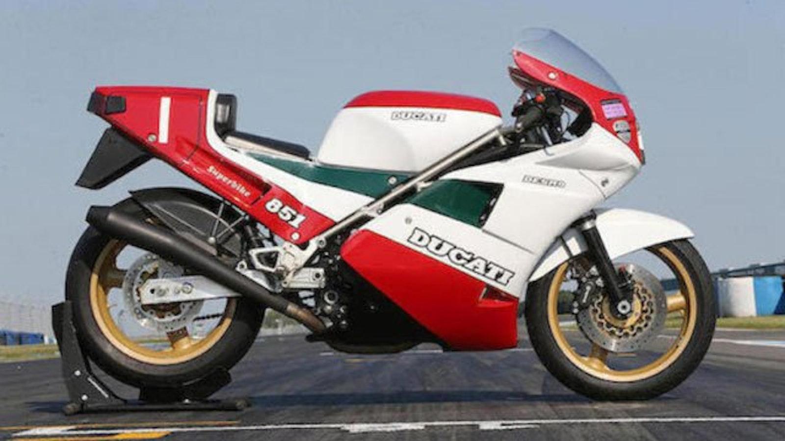 Ducati 851 Superbike Edizione 11/1987