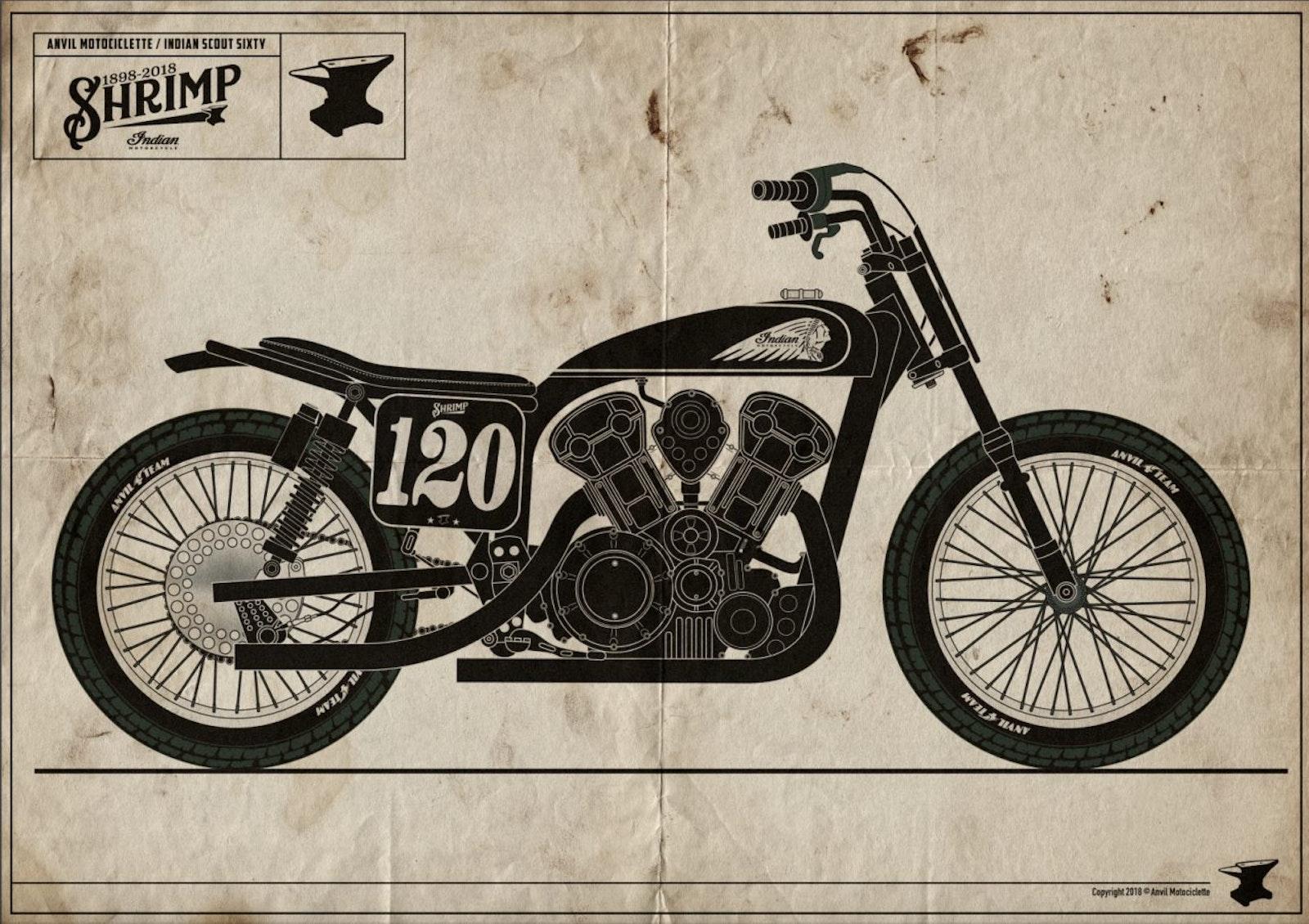 Anvil Motociclette Shrimp
