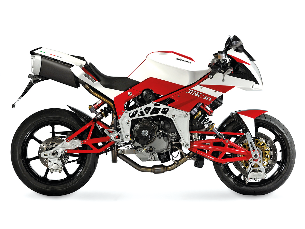 Bimota Tesi 3D Naked 2016: technical sheet   Motoren en